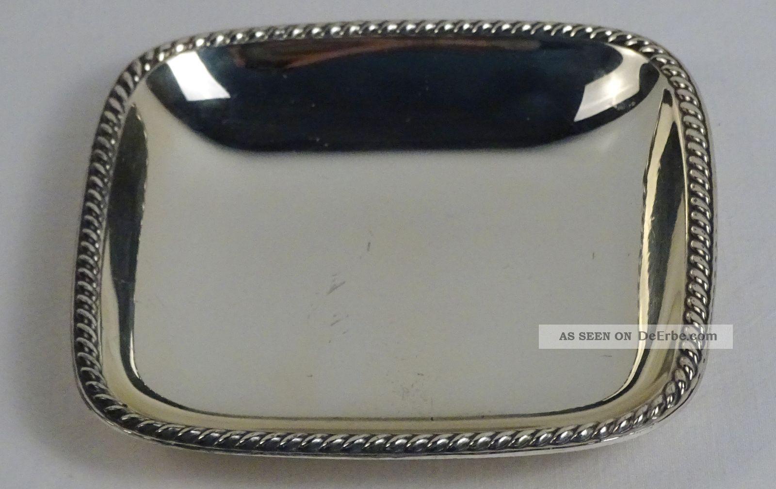 R&b Vorlegebesteck 800er Silber Robbe & Berking Rosenmuster 6 Tlg. Objekte nach 1945 Bild