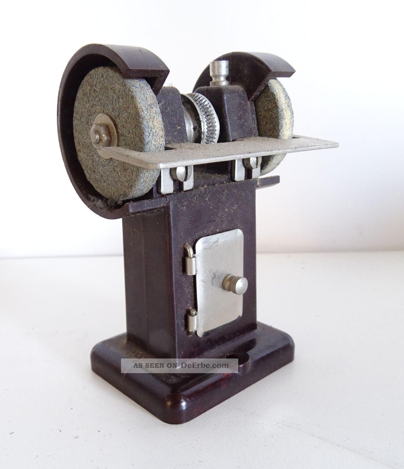 Antikes Oesterwitz Antriebsmodell Dampfmaschine Stand Schleifmaschine Bakelit Gefertigt nach 1945 Bild