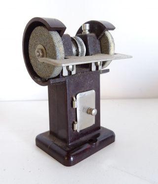 Antikes Oesterwitz Antriebsmodell Dampfmaschine Stand Schleifmaschine Bakelit Bild
