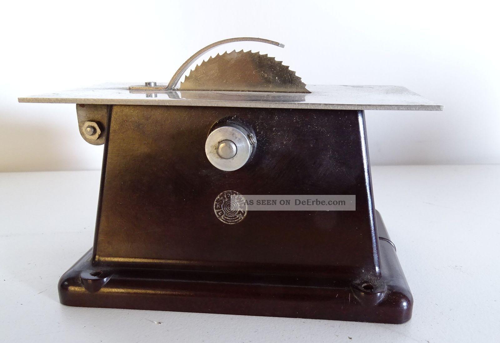 Antike Rarität Orig.  Oesterwitz Antriebsmodell Dampfmaschine Kreisssäge Bakelit Gefertigt nach 1945 Bild
