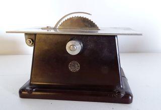 Antike Rarität Orig.  Oesterwitz Antriebsmodell Dampfmaschine Kreisssäge Bakelit Bild
